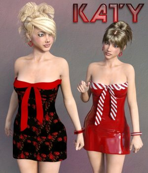Katy Clothing Set for G3 3D Figure Essentials chasmata