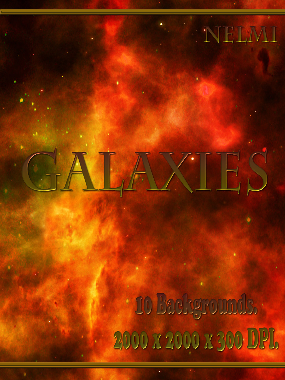 10 Galaxies Backgrounds
