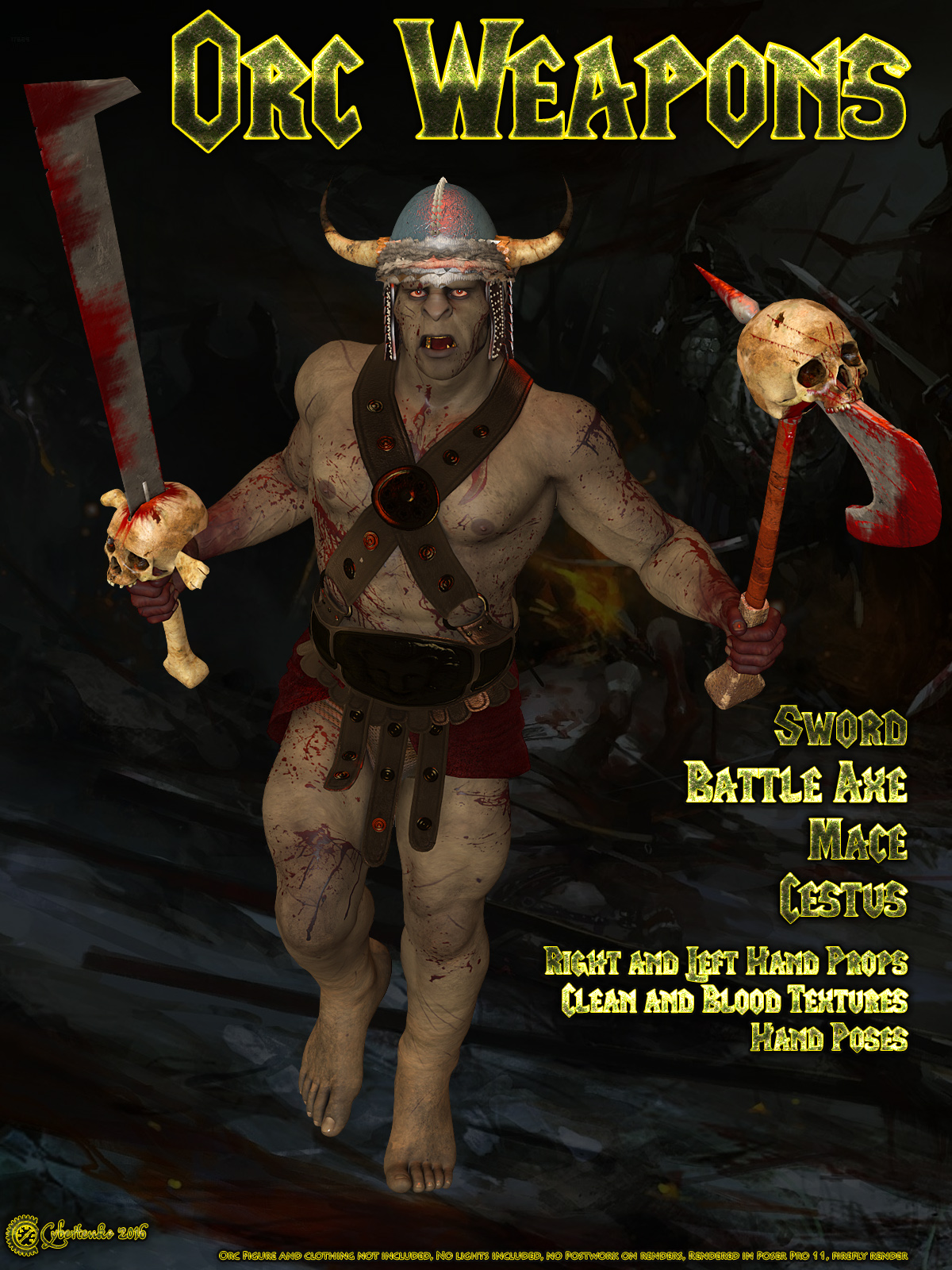 Orc Weapons