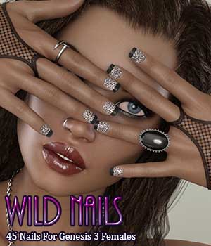 Wild Nails For G3F 3D Figure Essentials Merchant Resources Calico