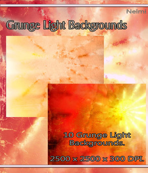 10 Grunge Light Backgrounds 2D Graphics nelmi