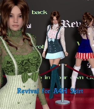 Revival for A4H 3D Figure Assets JudibugDesigns