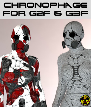 Chronophage Body Armor for G3F and G2F 3D Figure Assets SF-Design