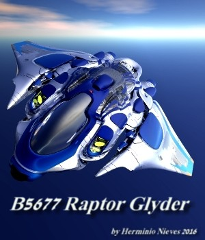 B5677 Raptor Glyder 3D Figure Essentials 3D Models sevein