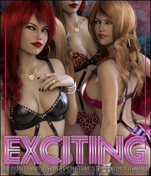 Exciting for Sexy Little Something 3 3D Figure Assets ShanasSoulmate