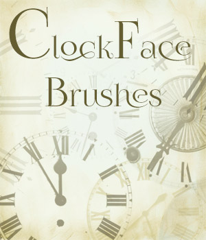 Clockface Brushes 2D Graphics Merchant Resources antje
