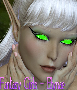 Fantasy Girls - Elynae 3D Figure Essentials kaleya