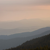 Dawn in the Carpathian Mountains image 5