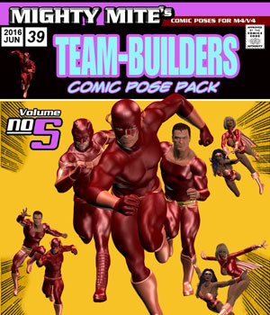 The Team-Builders v05 MM4MV 3D Figure Assets MightyMite