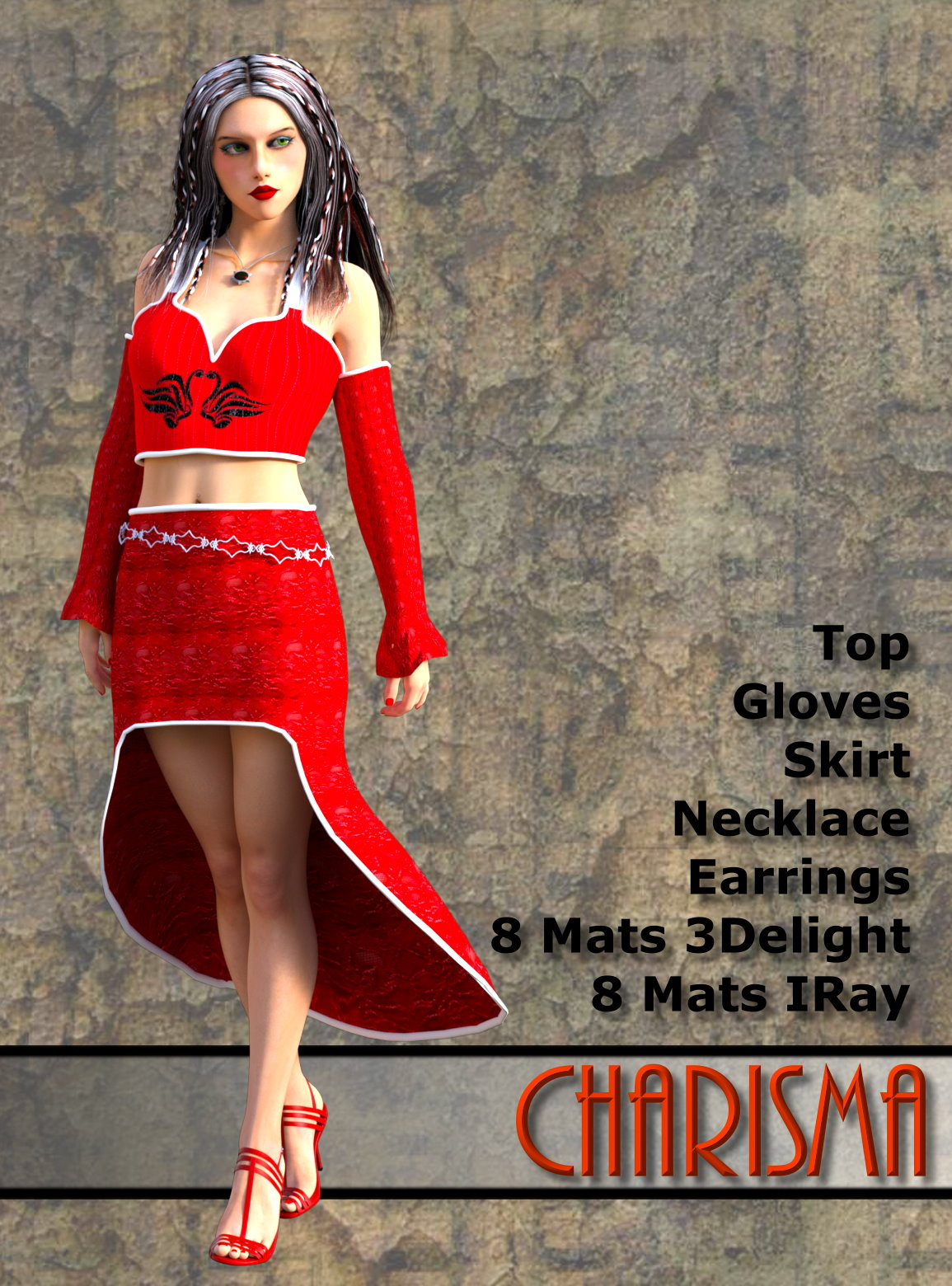 Charisma Clothing Set for G3F