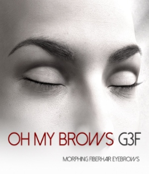 Oh My Brows Morphing Eyebrows for Genesis 3 Female 3D Figure Assets RedzStudio