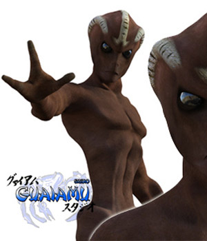 Varginha Alien for Genesis 3 male 3D Figure Assets guaiamustudio