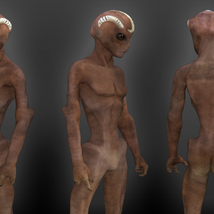 Varginha Alien for Genesis 3 male image 3