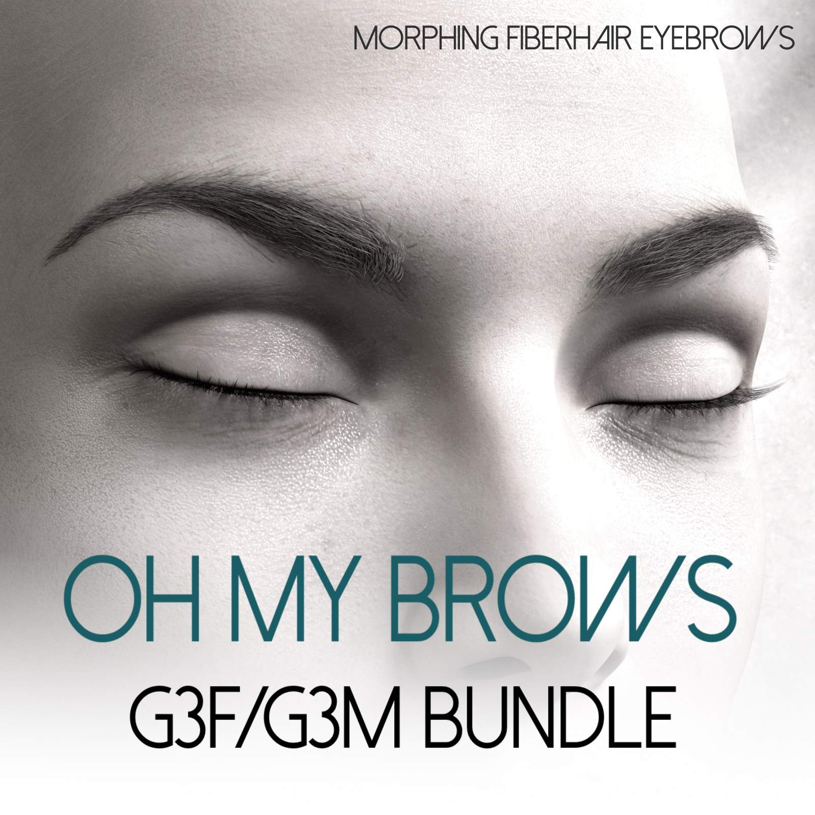 Oh My Brows BUNDLE Morphing Eyebrows for G3F and G3M