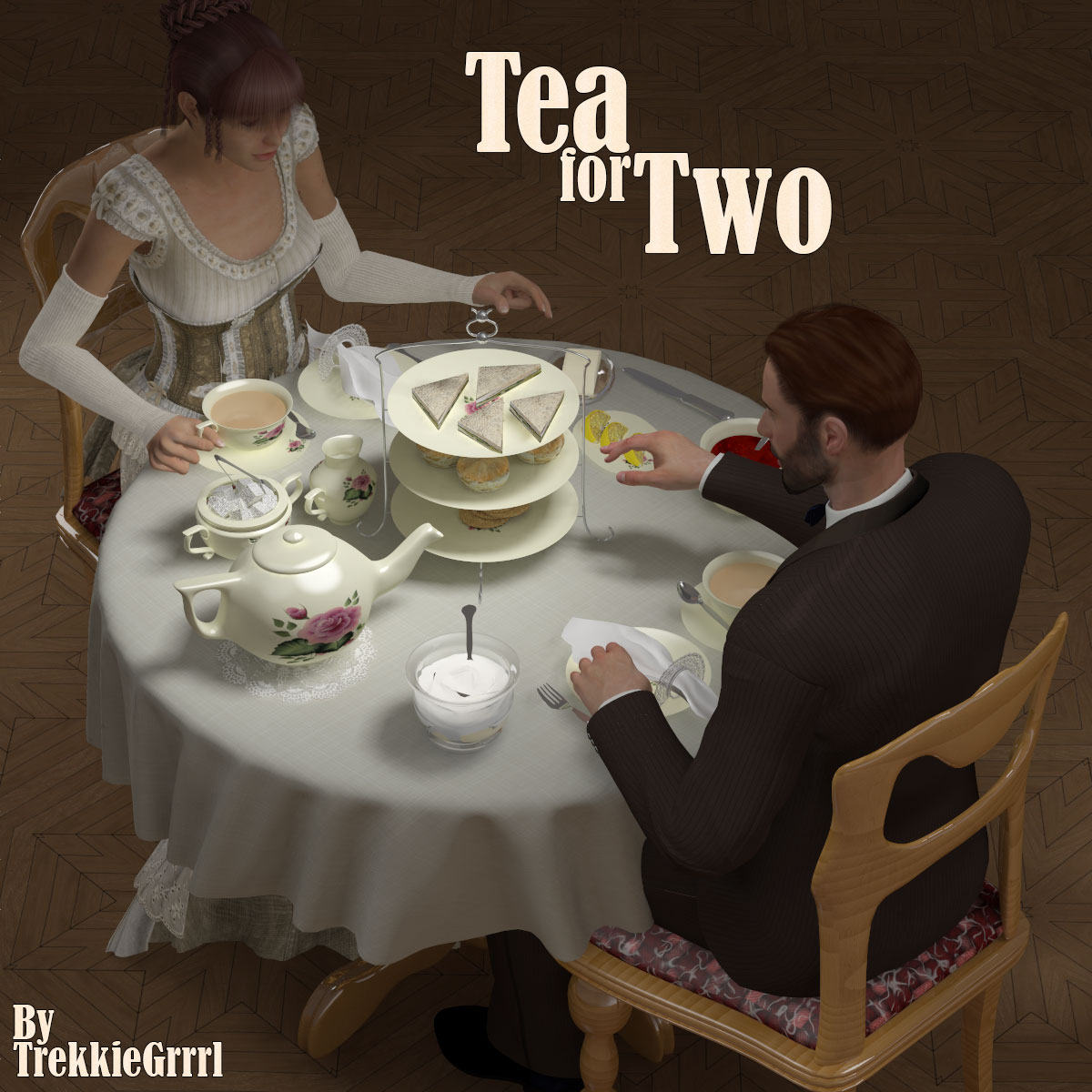 Tea forTwo by TrekkieGrrrl