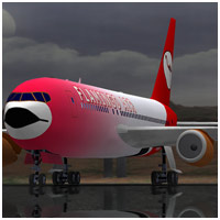 747 Jumbo Jet (Poser, VUE & OBJ) - Extended License 3D Models Gaming Extended Licenses RPublishing