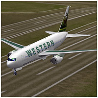 Airliner 767 (Poser, OBJ, Vue & 3DS) - Extended License 3D Models Extended Licenses RPublishing