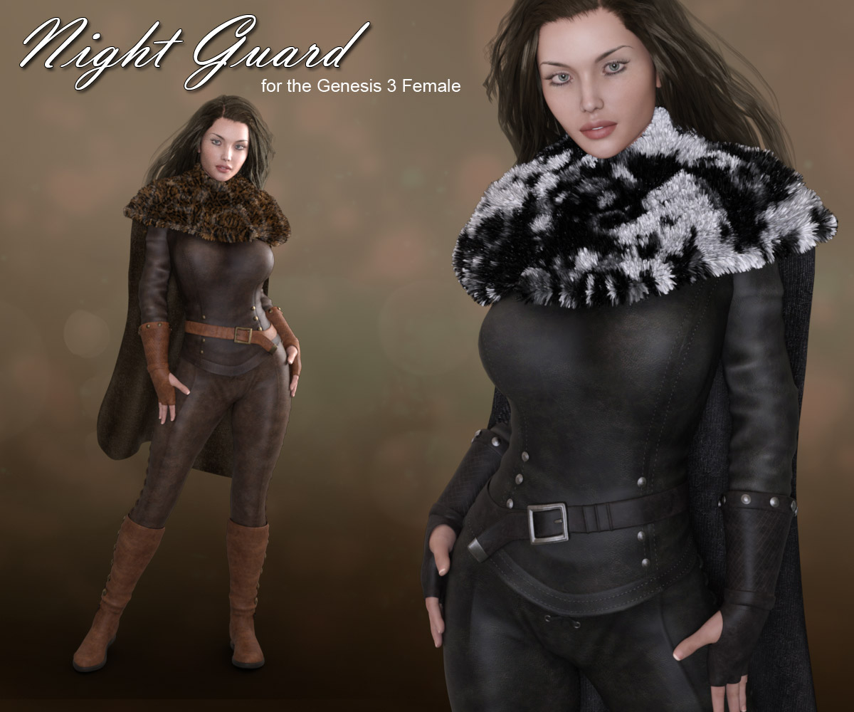 Night Guard for Genesis 3 Females - Extended License