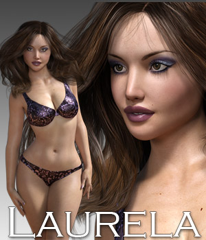 Laurela for Genesis 3 3D Figure Assets Rhiannon
