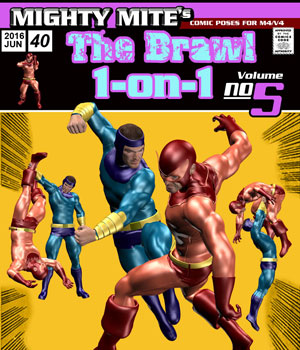 The Brawl: 1on1 v05 MM4M 3D Figure Assets MightyMite