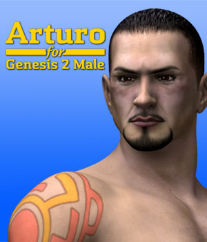 Arturo for Genesis 2 Male 3D Figure Essentials Dave