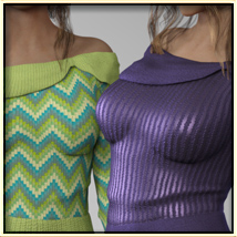 Faxhion - Off Shoulder Sweater image 2