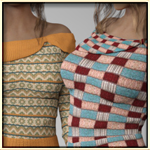 Faxhion - Off Shoulder Sweater image 5