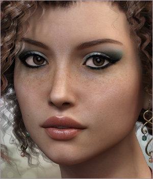 Harlow for Victoria 7 and Genesis 3 3D Figure Assets Sabby