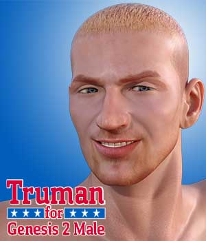 Truman for Genesis 2 Male 3D Figure Essentials Dave