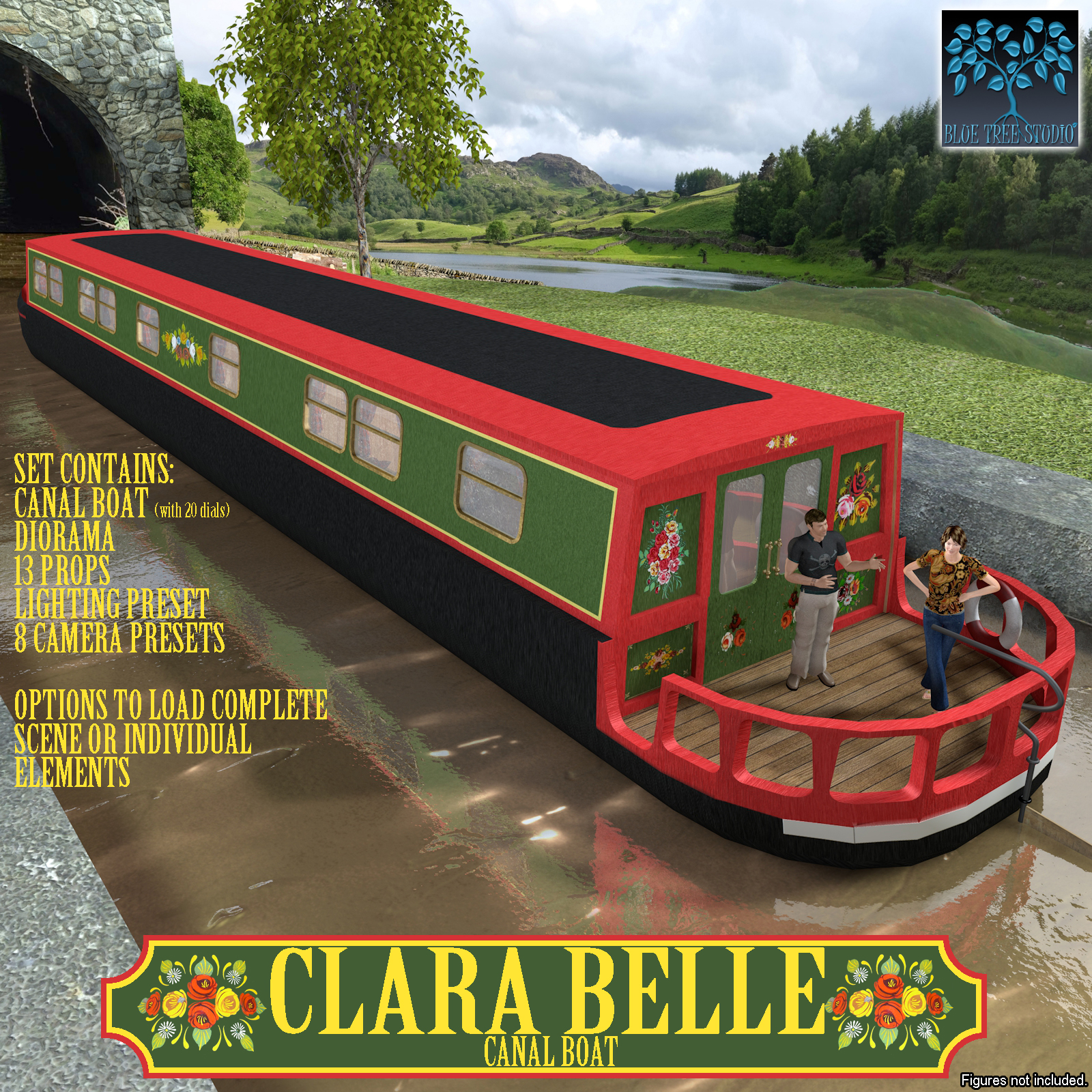 Clara Belle Canal Boat
