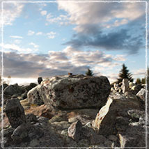 3D Scenery: Stone Age Burials image 4