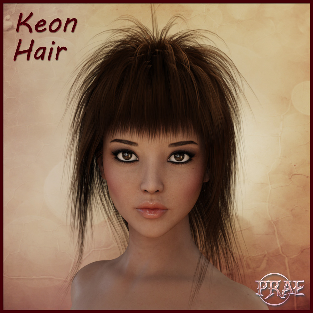 Prae-Keon Hair For Daz