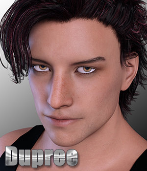 Dupree for Genesis 3 Male & (M7) 3D Figure Assets 3DSublimeProductions