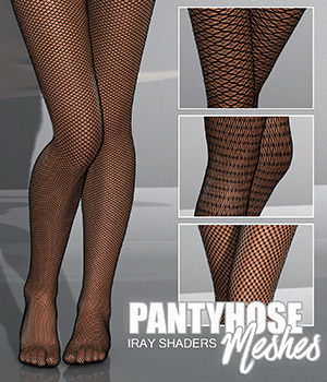 DAZ Iray - Pantyhose Meshes 2D Merchant Resources Atenais