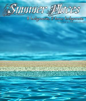 Summer Places 2D Backgrounds 2D Graphics bonbonka