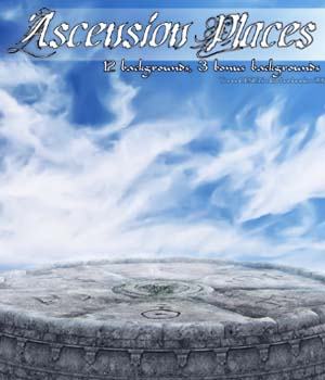 Ascension Places 2D backgrounds 2D Graphics bonbonka