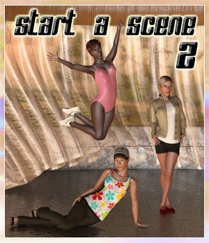 Start a scene 2 3D Models 3Dream