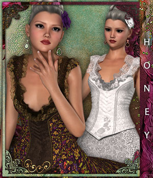 Honey for Spring Bride 3D Figure Essentials sandra_bonello