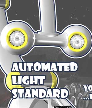 Automated Light Standard 3D Figure Essentials 3D Models Colosus