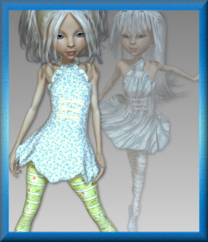 Mavka Ice Fairy 3D Figure Essentials 3DTubeMagic