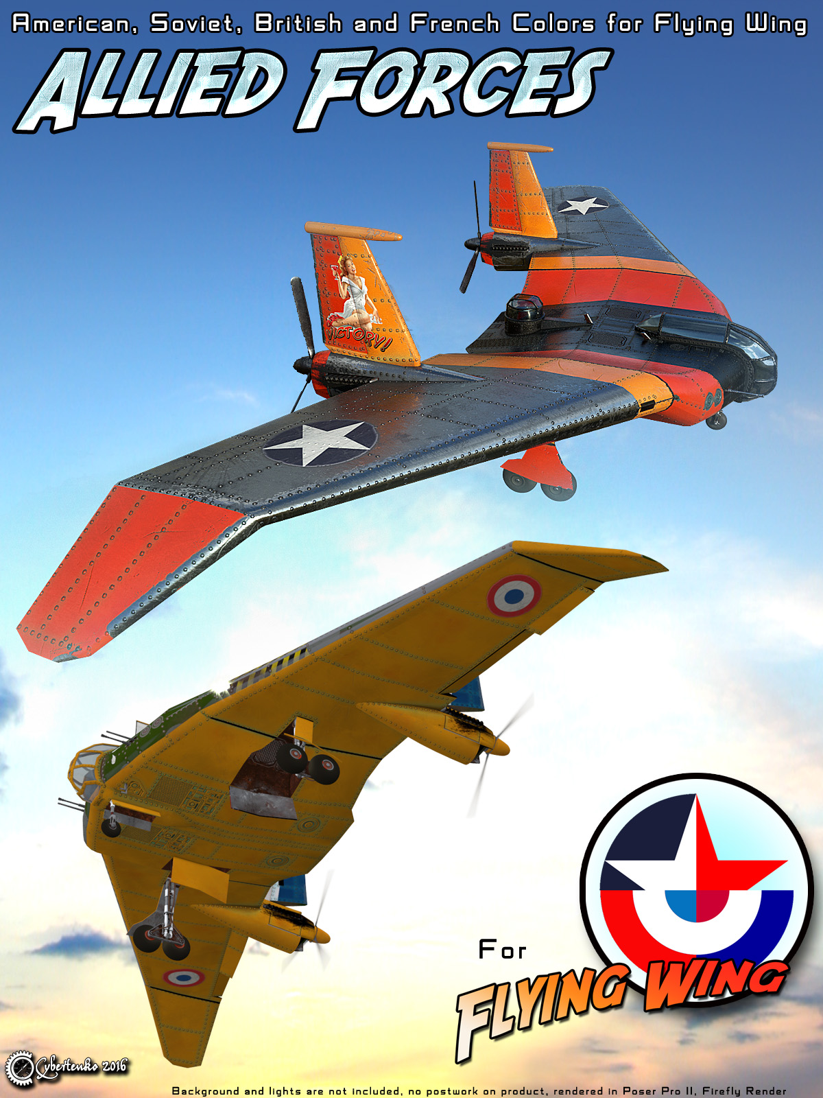 Allied Forces for Flying Wing