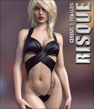 Risque for Genesis 3 Female(s) 3D Figure Essentials lilflame