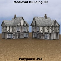 Low Polygon Medieval Buildings 3 (for DAZ Studio) image 2