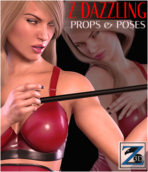Z Dazzling - Props & Poses 3D Figure Essentials 3D Models Zeddicuss