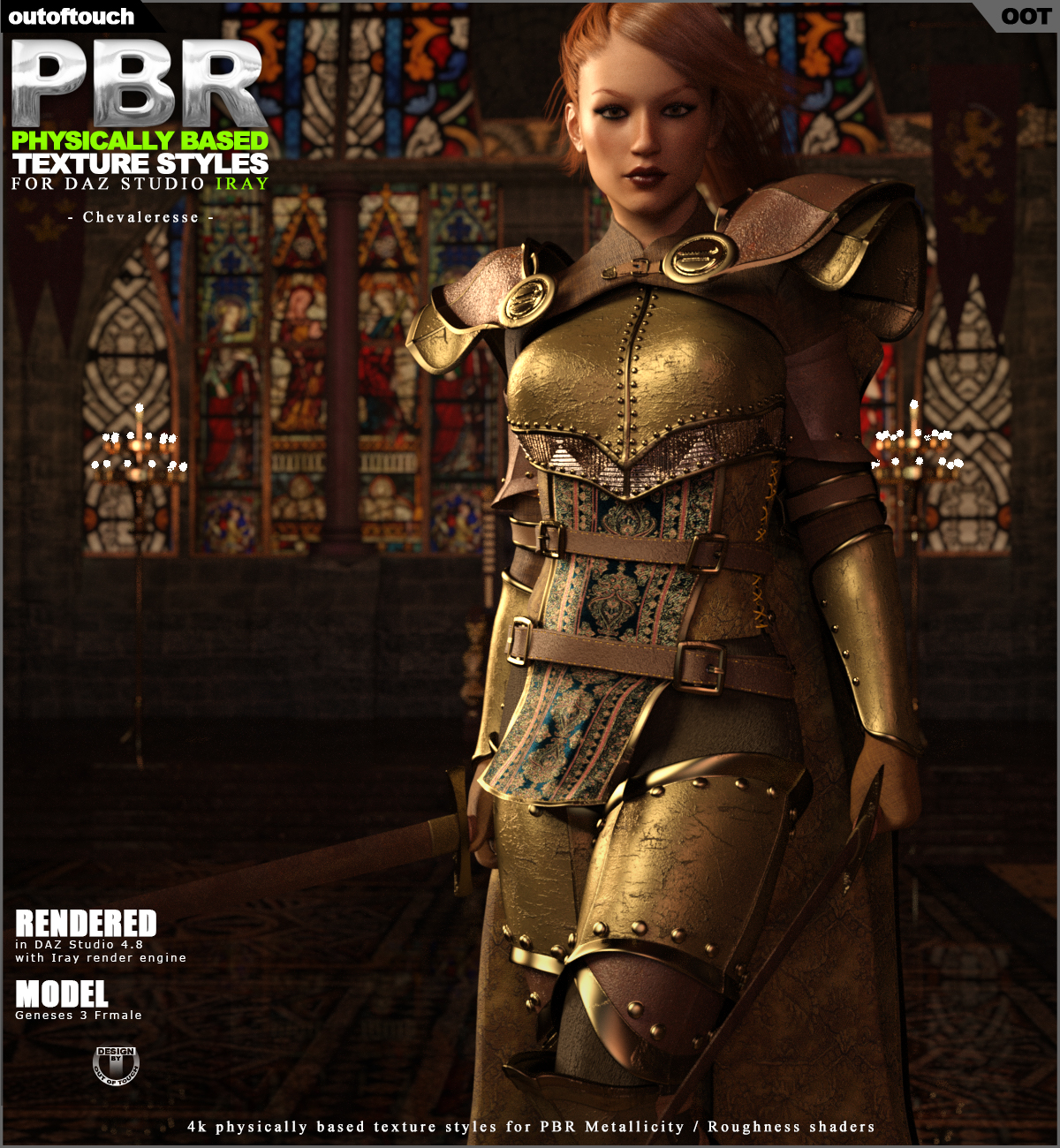 OOT PBR Texture Styles for Chevaleresse Armor