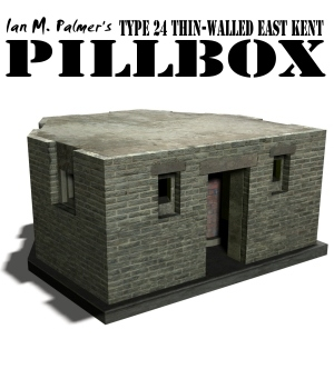 IanMPalmers Pillbox Type 24 Thin-walled East Kent 3D Models IanMPalmer