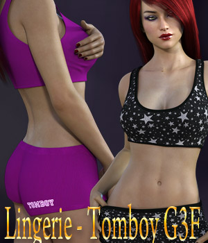 Lingerie - Tomboy G3F 3D Figure Essentials kaleya