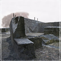 3d Scenery: Forgotten Concrete - Extended License image 3