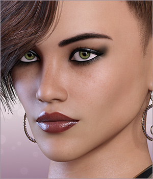 Drina for Victoria 7 and Genesis 3 3D Figure Assets 3DSublimeProductions
