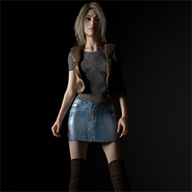 Michelle for Genesis 3 Female image 2